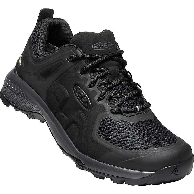 キーン メンズ ブーツ・レインブーツ シューズ Keen Men's Explore Waterproof Shoe Black / Magnet