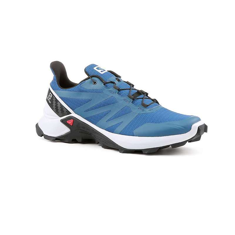 サロモン メンズ スニーカー シューズ Salomon Men's Supercross Shoe Poseidon / Pearl Blue / Black