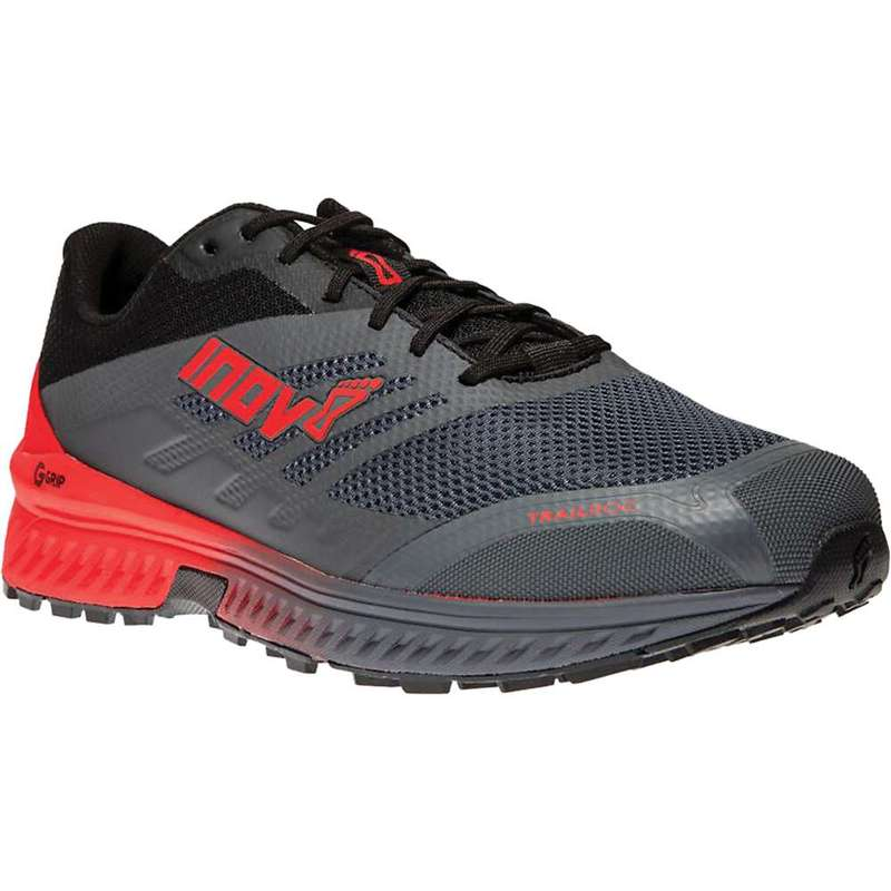 イノヴェイト メンズ スニーカー シューズ Inov8 Men's Trailroc 280 Shoe Grey/Red