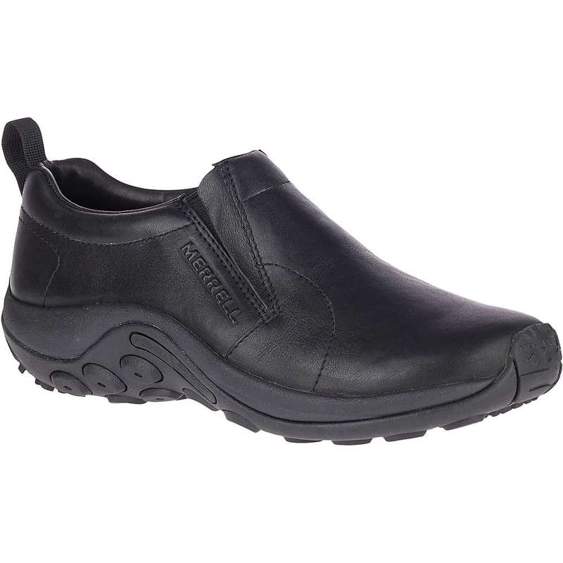 メレル メンズ スニーカー シューズ Merrell Men's Jungle Moc Leather 2 Shoe Black