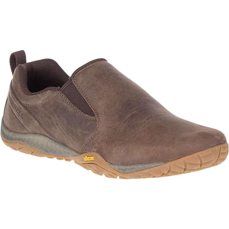 メレル メンズ スニーカー シューズ Merrell Men's Trail Glove 4 Luna Slip On Shoe Espresso
