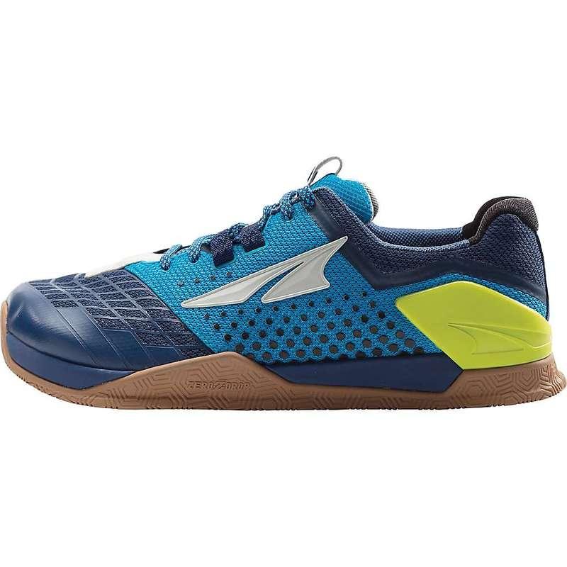 オルトラ メンズ スニーカー シューズ Altra Men's Hiit XT Shoe Blue / Lime