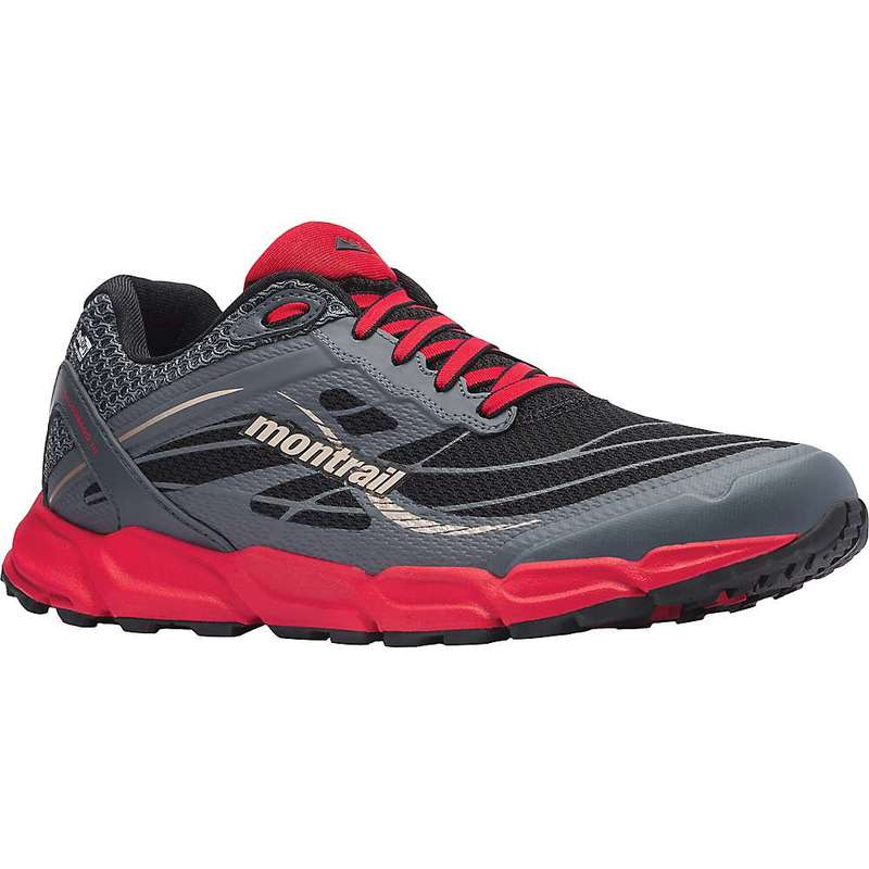 コロンビア メンズ スニーカー シューズ Columbia Men's Caldorado III OutDry Shoe Black / Bright Red