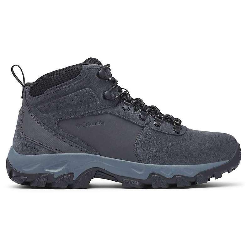 コロンビア メンズ ブーツ・レインブーツ シューズ Columbia Men's Newton Ridge Plus II Suede WP Boot Shark / Black