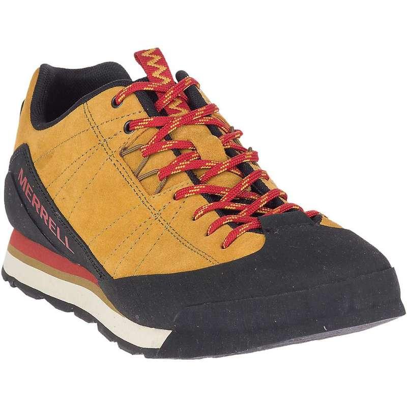 メレル メンズ スニーカー シューズ Merrell Men's Catalyst Suede Shoe Gold