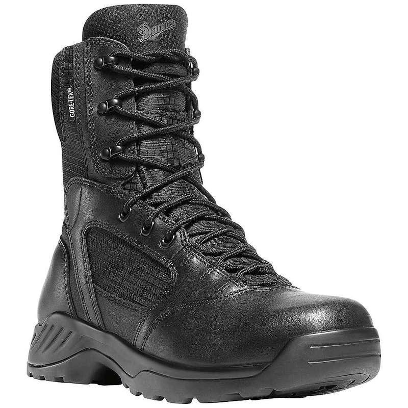 ダナー メンズ ブーツ・レインブーツ シューズ Danner Men's Kinetic Side-Zip 8IN GTX Boot Black