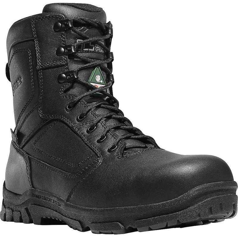 送料無料 販売実績No.1 サイズ交換無料 ダナー メンズ シューズ ブーツ レインブーツ Black Danner セール 8IN Lookout Zip Side NMT EMS Men's Boot