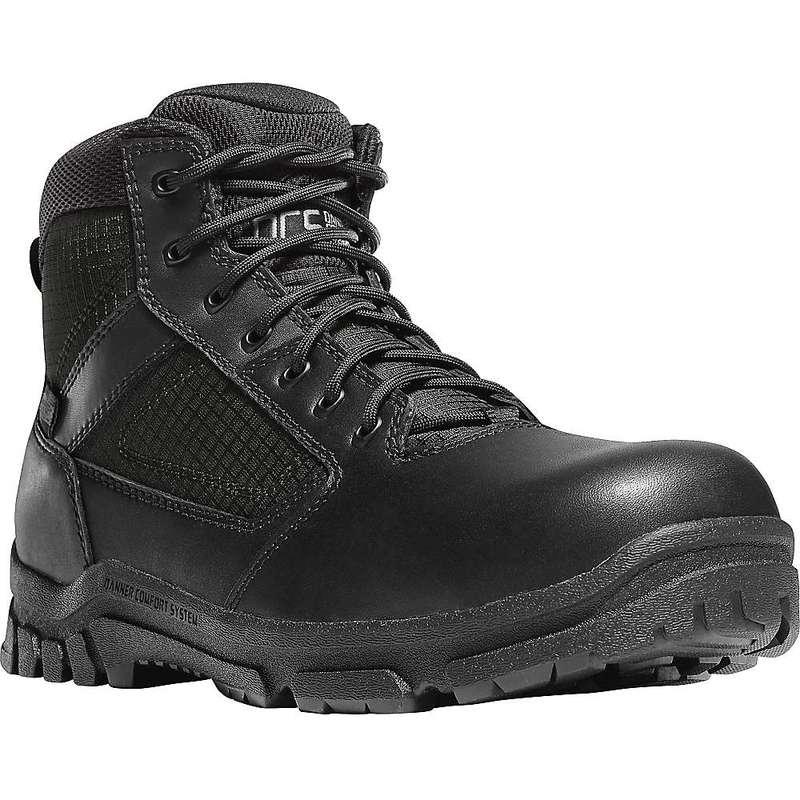 ダナー メンズ ブーツ・レインブーツ シューズ Danner Men's Lookout Side-Zip 5.5IN NMT Boot Black