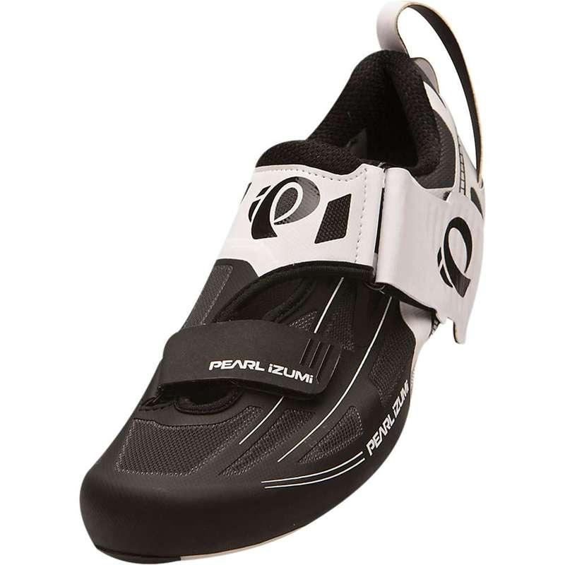 パールイズミ メンズ スニーカー シューズ Pearl Izumi Men's Tri Fly ELITE v6 Shoe White/Black