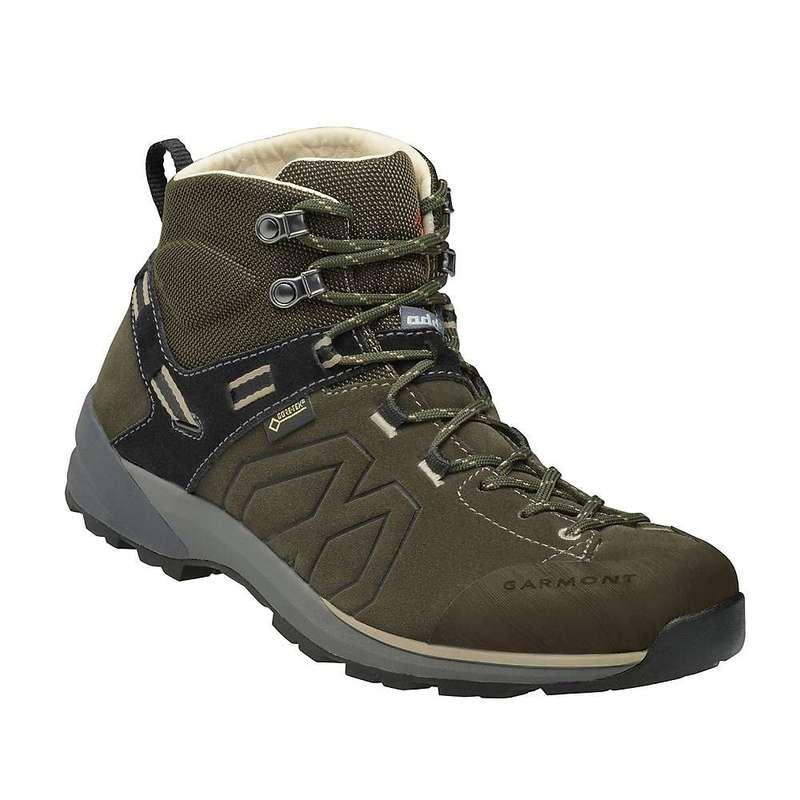 ガーモント メンズ ブーツ・レインブーツ シューズ Garmont Men's Santiago GTX Mid Boot Olive Green / Beige