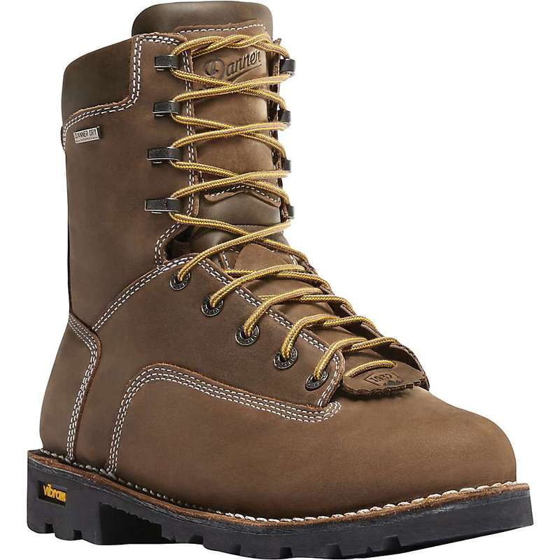 ダナー メンズ ブーツ・レインブーツ シューズ Danner Men's Gritstone 8IN 400G Insulated Boot Brown