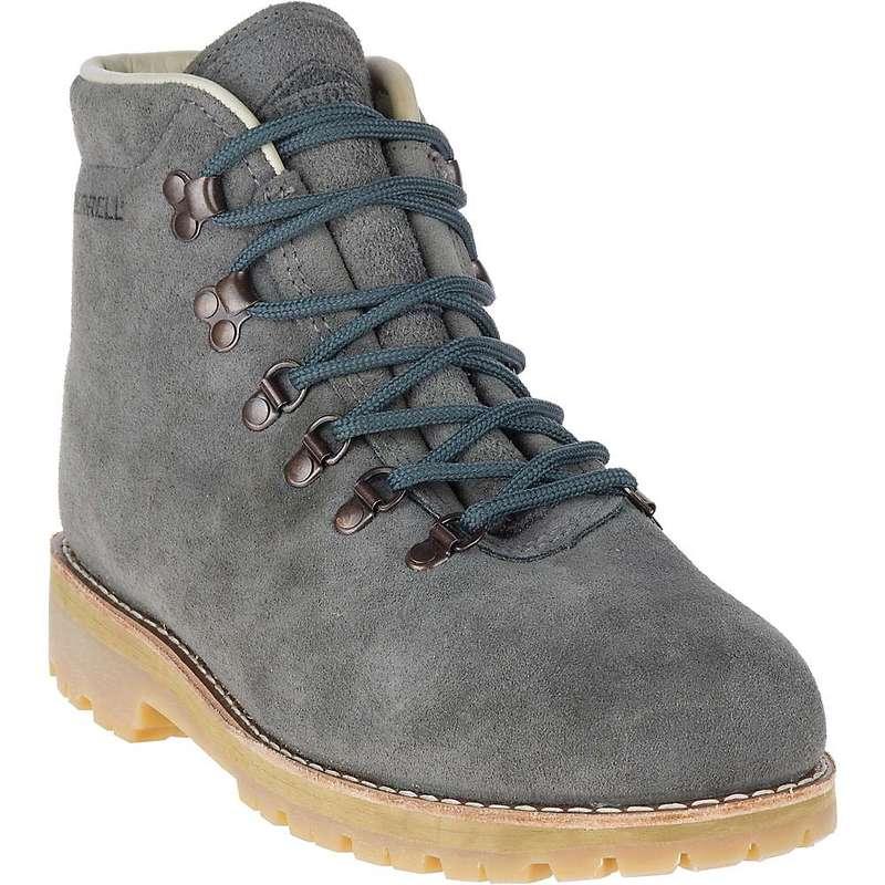 メレル メンズ ブーツ・レインブーツ シューズ Merrell Men's Wilderness USA Suede Boot Steel Grey