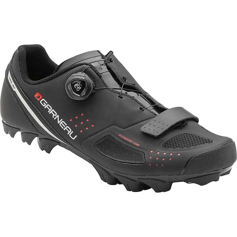 イルスガーナー メンズ スニーカー シューズ Louis Garneau Men's Granite II Shoe Black