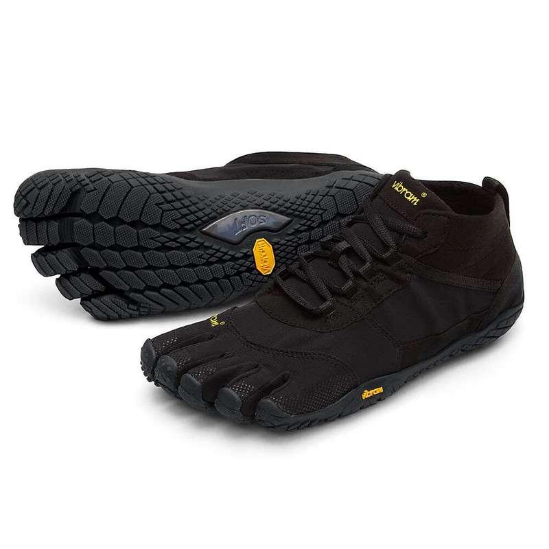 ビブラムファイブフィンガーズ メンズ スニーカー シューズ Vibram Five Fingers Men's V-Trek Shoe Black/Black