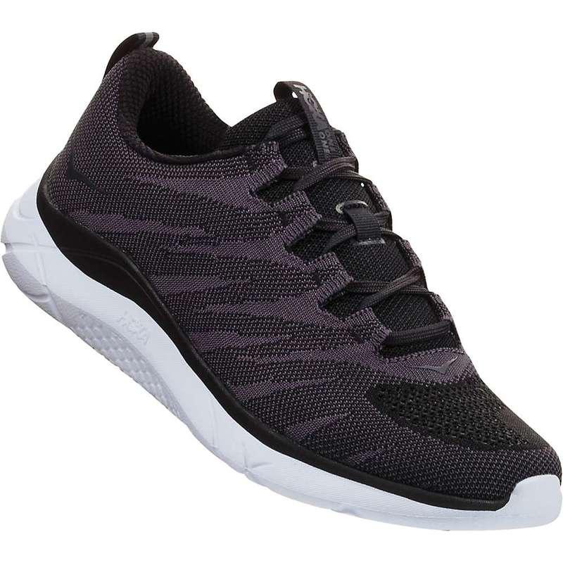 ホッカオネオネ メンズ スニーカー シューズ Hoka One One Men's Hupana Knit Jacquard Shoe Black / White