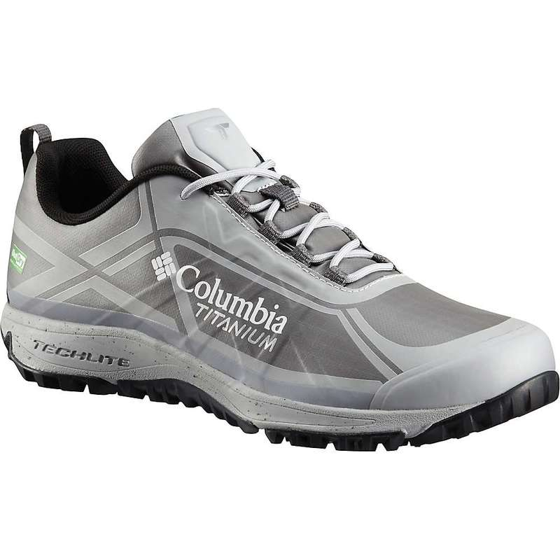 コロンビア メンズ スニーカー シューズ Columbia Men's Conspiracy III Titanium ODX Eco Shoe City Grey / Lux