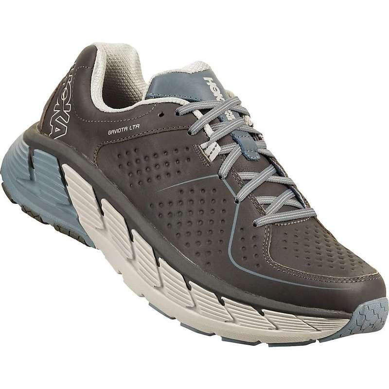 ホッカオネオネ メンズ スニーカー シューズ Hoka One One Men's Gaviota Leather Shoe Charcoal / Tradewinds