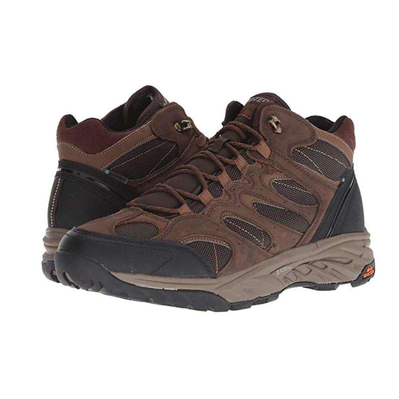 ハイテック メンズ ブーツ・レインブーツ シューズ Hi-Tec Men's Wild-Fire Blaze Mid I WP Shoe Chocolate / Tan