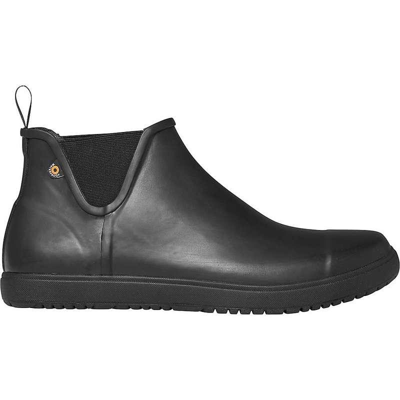 ボグス メンズ ブーツ・レインブーツ シューズ Bogs Men's Overcast Chelsea Boot Black