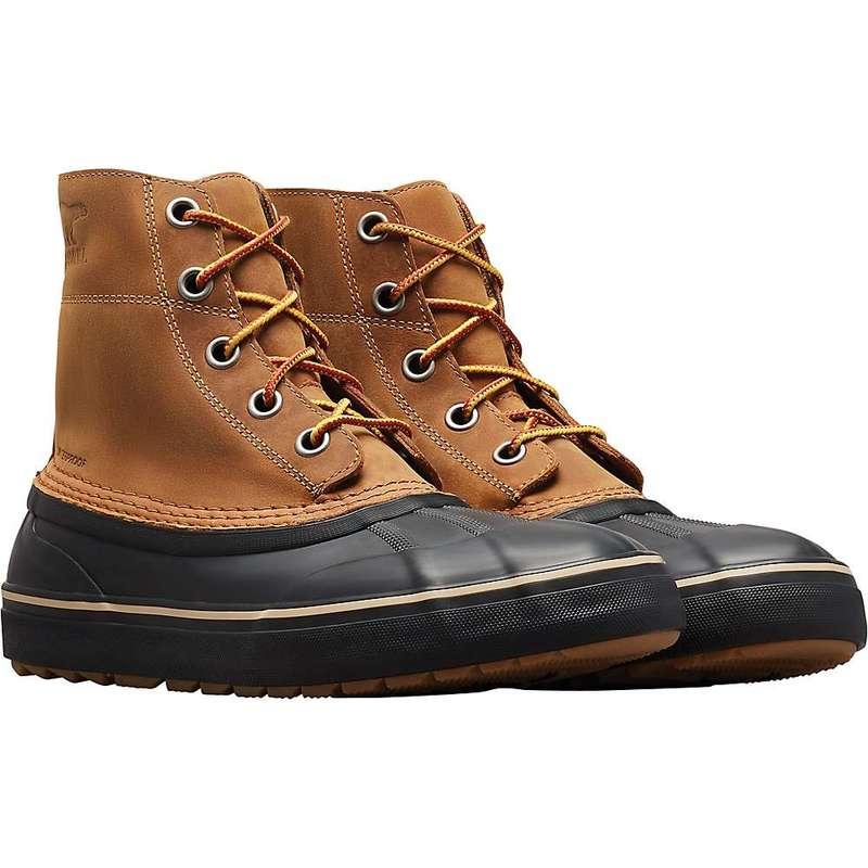 ソレル メンズ ブーツ・レインブーツ シューズ Sorel Men's Cheyanne Metro Lace Waterproof Boot Elk / Black