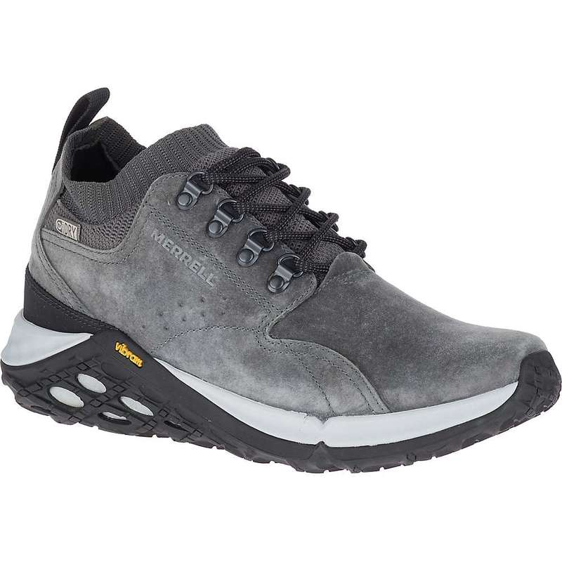 メレル メンズ スニーカー シューズ Merrell Men's Jungle Mid XX Waterproof AC+ Shoe Granite