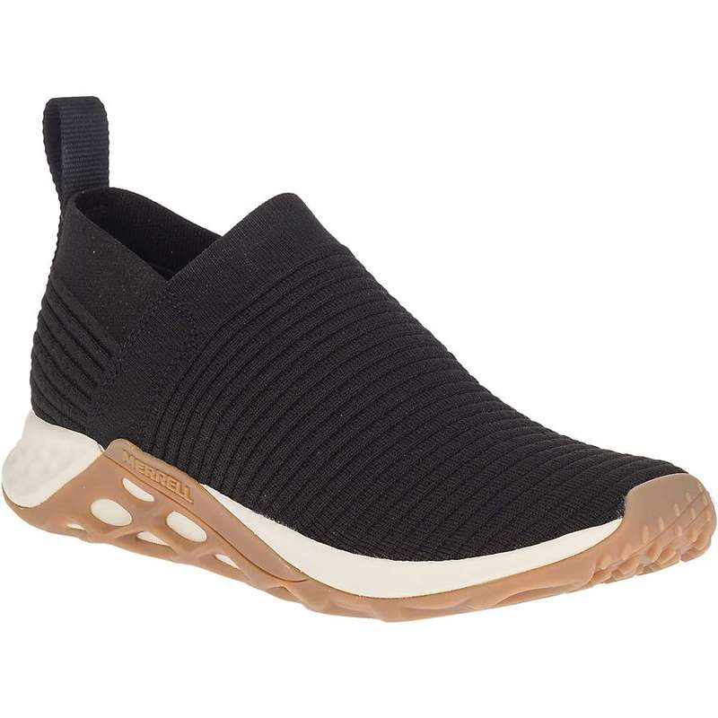 メレル メンズ スニーカー シューズ Merrell Men's Range Laceless AC+ Shoe Black / Gum