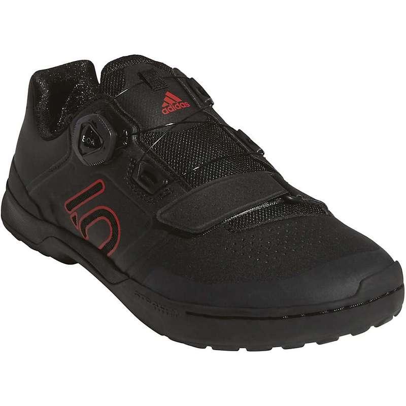 ファイブテン メンズ スニーカー シューズ Five Ten Men's Kestrel Pro BOA Shoe Black / Red / Grey Six