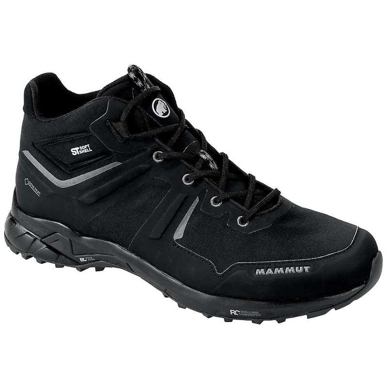 送料無料 サイズ交換無料 マムート メンズ シューズ ブーツ レインブーツ 迅速な対応で商品をお届け致します Black Pro Ultimate 全店販売中 Mid Men's GTX Mammut Shoe