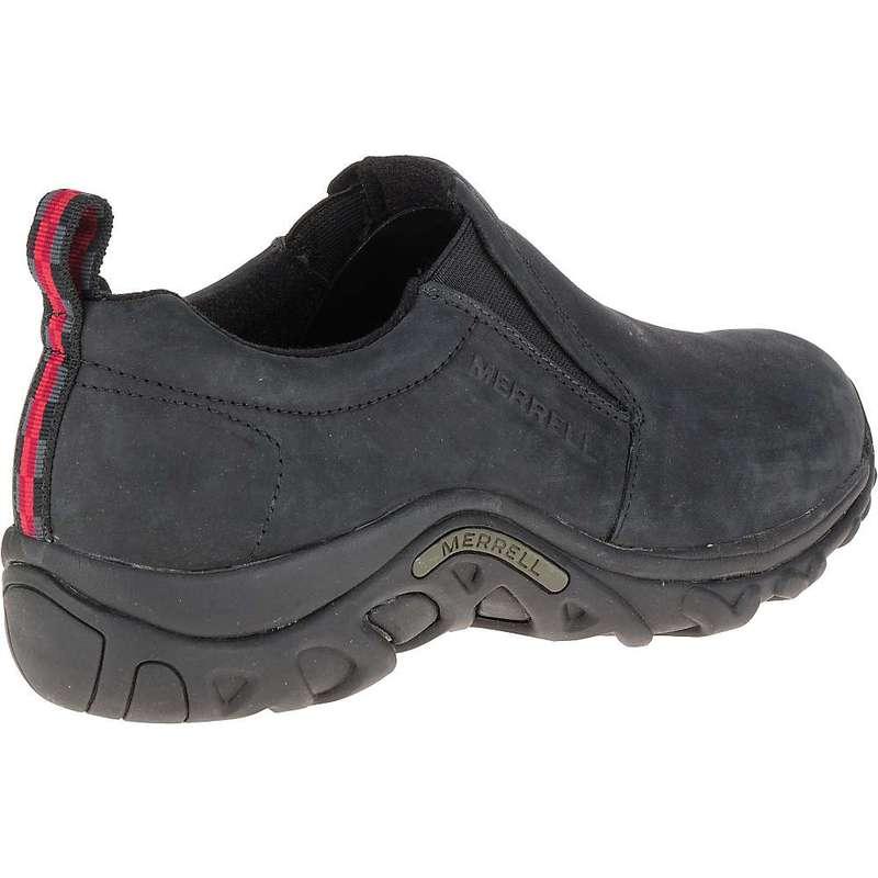 メレル メンズ スニーカー シューズ Merrell Men's Jungle Moc Nubuck Shoe Black
