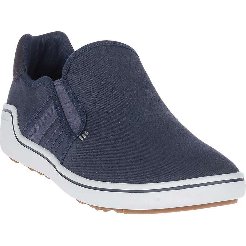 メレル メンズ スニーカー シューズ Merrell Men's Primer Laceless Vent Shoe Navy