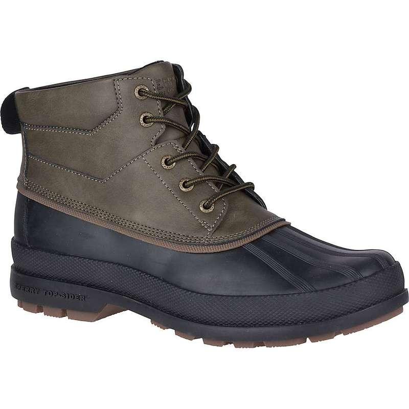 スペリー メンズ ブーツ・レインブーツ シューズ Sperry Men's Cold Bay Chukka Boot Olive/Black