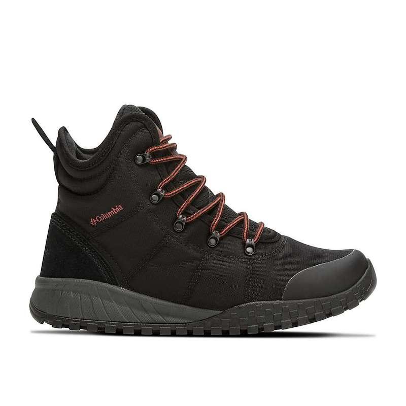 コロンビア メンズ ブーツ・レインブーツ シューズ Columbia Men's Fairbanks Omni-Heat Boot Black / Rusty