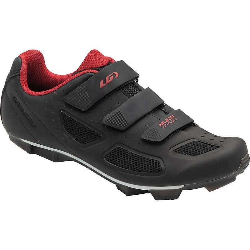 イルスガーナー メンズ スニーカー シューズ Louis Garneau Men's Multi Air Flex II Shoe Black