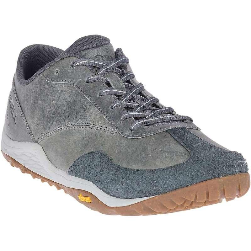 メレル メンズ スニーカー シューズ Merrell Men's Trail Glove 5 Leather Shoe Rock