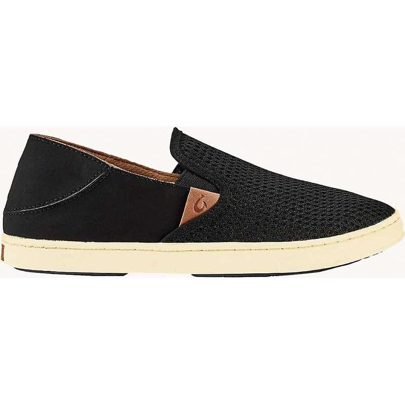 オルカイ レディース スニーカー シューズ Olukai Women's Pehuea Shoe Black/Black