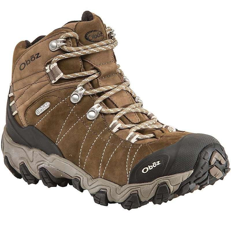 オボズ レディース ブーツ・レインブーツ シューズ Oboz Women's Bridger Mid BDry Boot Walnut