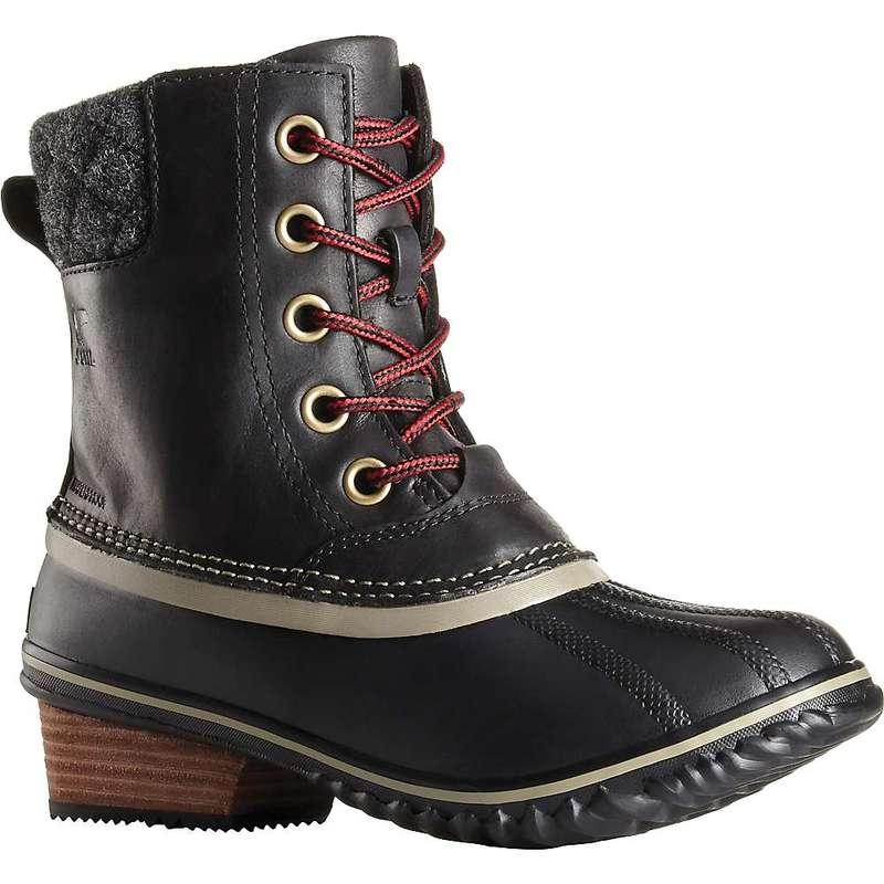 ソレル レディース ブーツ・レインブーツ シューズ Sorel Women's Slimpack II Lace Boot Black / Kettle