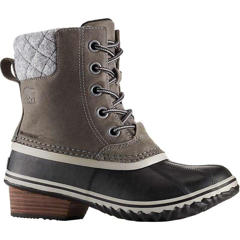 ソレル レディース ブーツ・レインブーツ シューズ Sorel Women's Slimpack II Lace Boot Quarry / Black