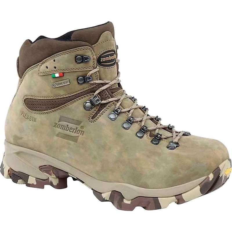 ザンバラン メンズ ブーツ・レインブーツ シューズ Zamberlan Men's 1013 Leopard GTX Boot Camo