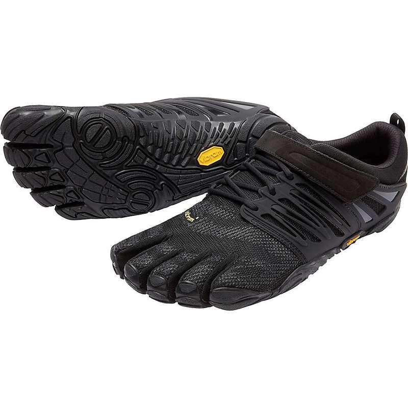 ビブラムファイブフィンガーズ メンズ ブーツ・レインブーツ シューズ Vibram Five Fingers Men's V-Train Shoe Black Out