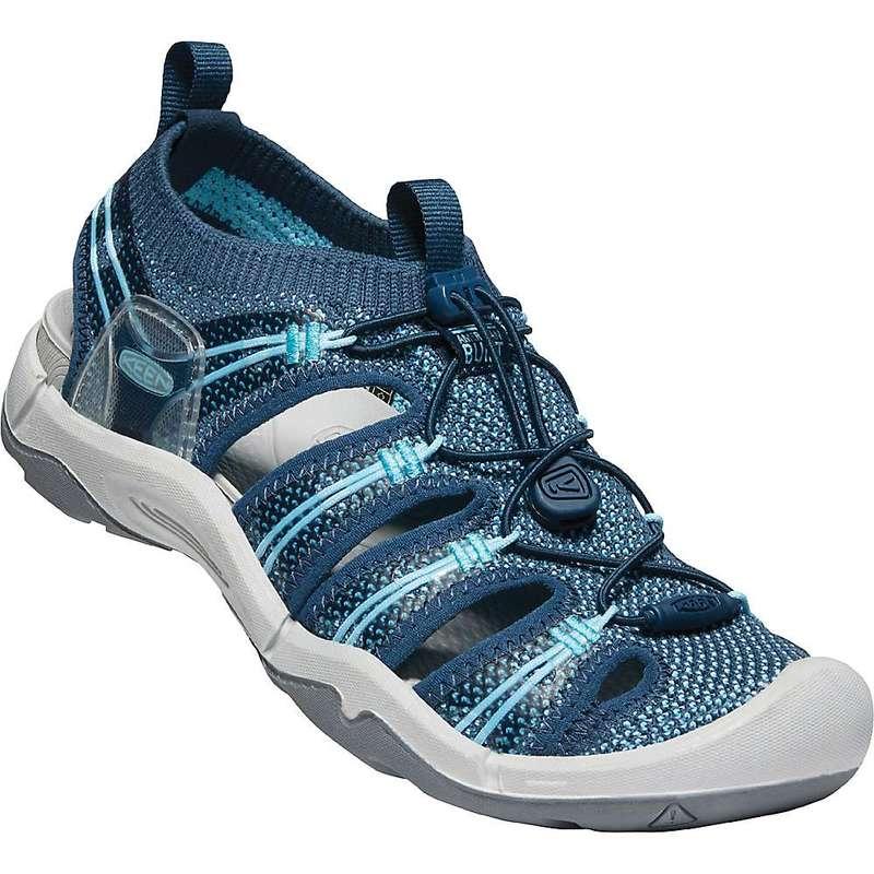 キーン レディース サンダル シューズ Keen Women's Evofit One Sandal Navy / Bright Blue