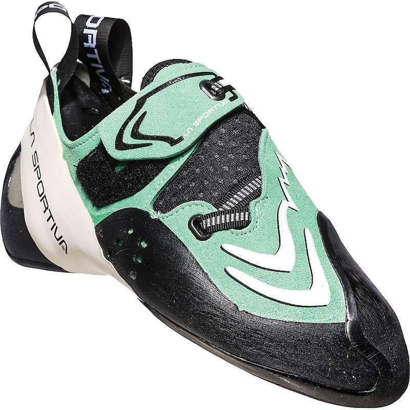 ラスポルティバ レディース スニーカー シューズ La Sportiva Women's Futura Climbing Shoe Jade Green / White