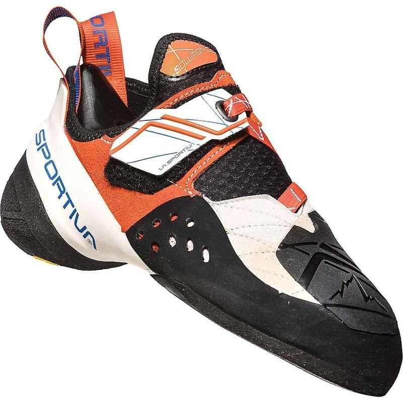 ラスポルティバ レディース スニーカー シューズ La Sportiva Women's Solution Climbing Shoe White / Lily Orange