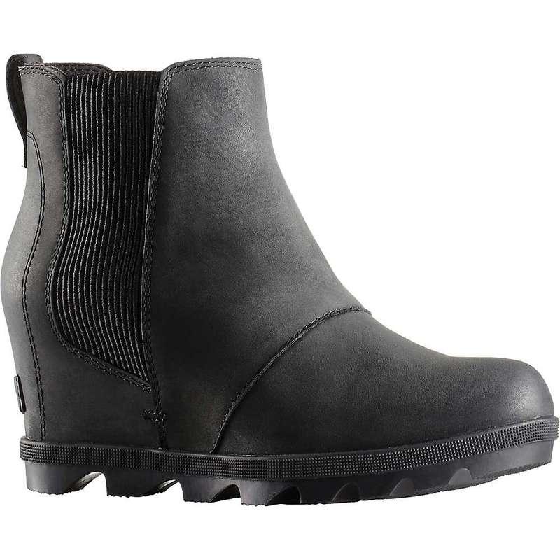 ソレル レディース ブーツ・レインブーツ シューズ Sorel Women's Joan of Arctic Wedge II Chelsea Boot Black