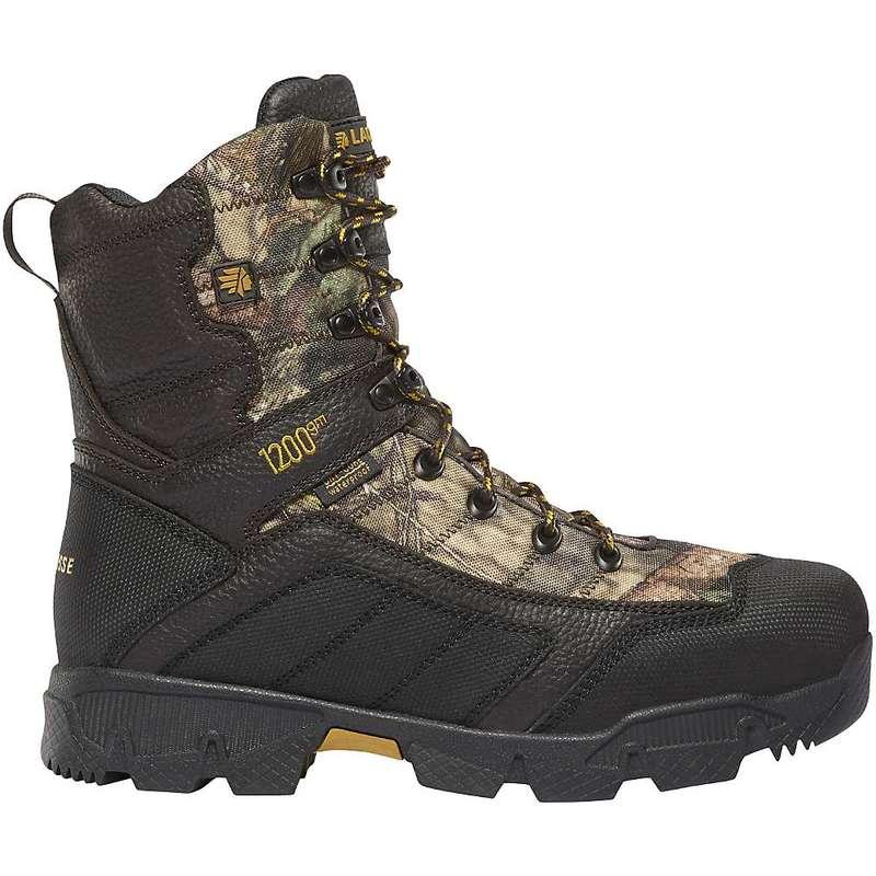 ラクロス メンズ ブーツ・レインブーツ シューズ Lacrosse Men's Cold Snap 1200G Insulated 8IN Boot Mossy Oak Break-Up Country