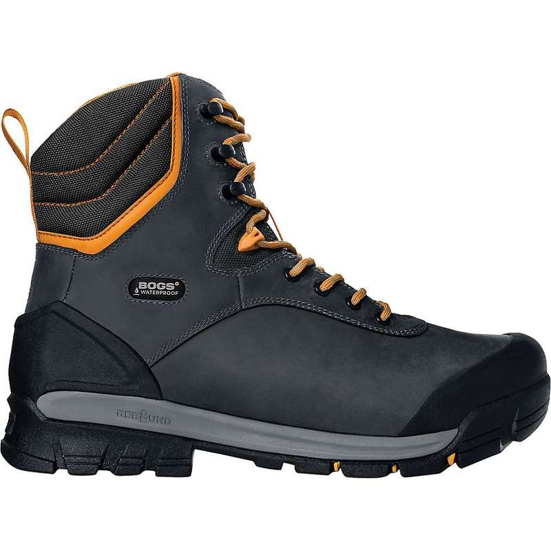 ボグス メンズ ブーツ・レインブーツ シューズ Bogs Men's Bedrock 8 Inch Comp Toe Insulated Boot Black Multi