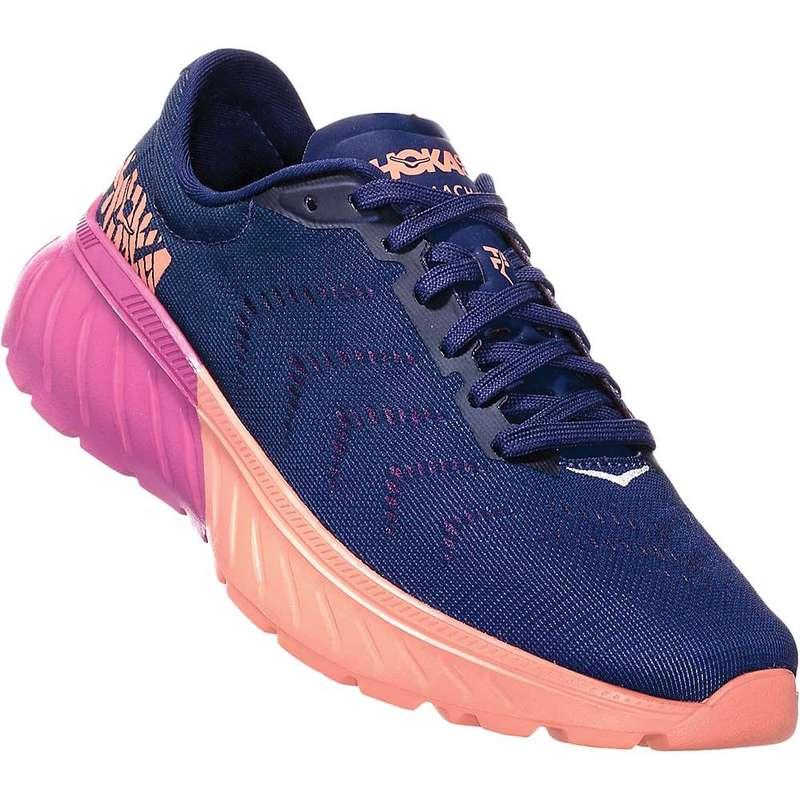 ホッカオネオネ レディース スニーカー シューズ Hoka One One Women's Mach 2 Shoe Medieval Blue / Very Berry