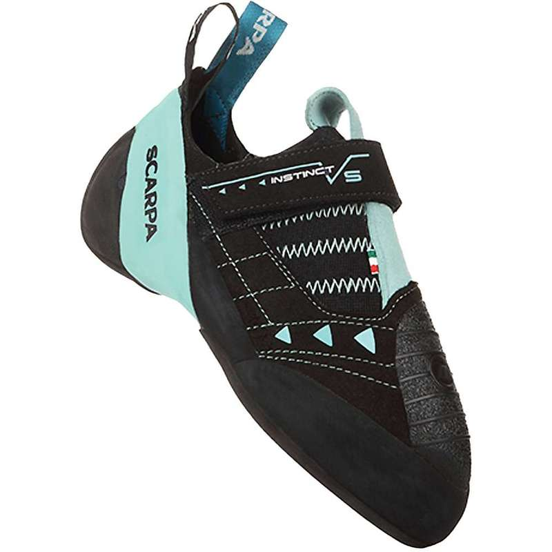 スカルパ レディース スニーカー シューズ Scarpa Women's Instinct VS Climbing Shoe Black/Aqua
