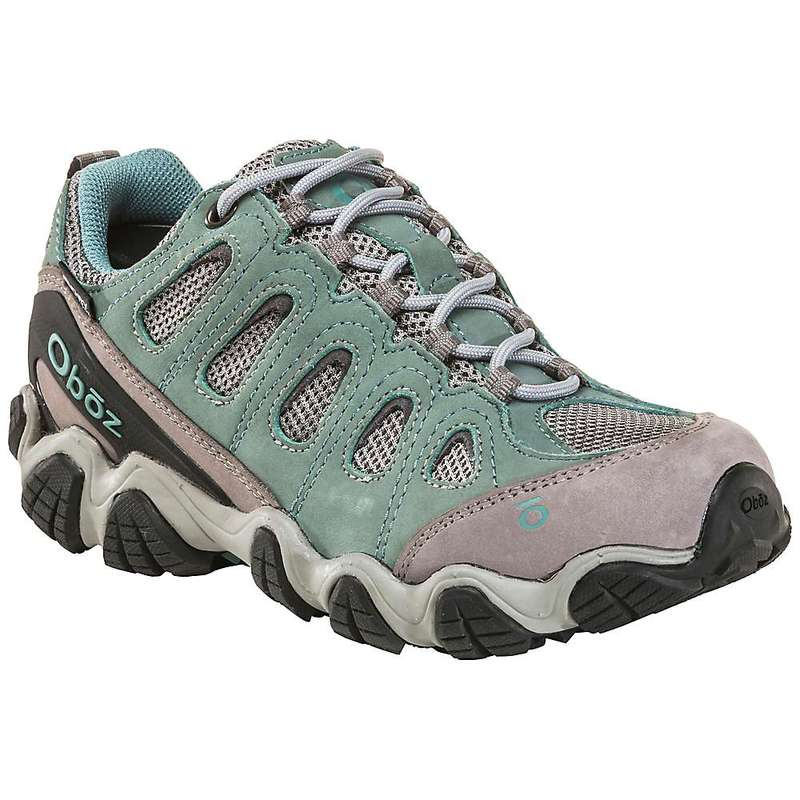 オボズ レディース ブーツ・レインブーツ シューズ Oboz Women's Sawtooth II Low BDry Shoe Mineral Blue