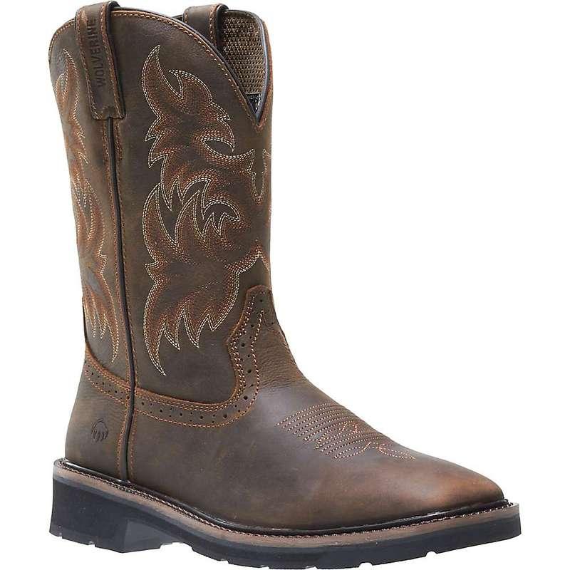 ウルヴァリン メンズ ブーツ・レインブーツ シューズ Wolverine Men's Rancher Soft Toe Boot Dark Brown / Rust